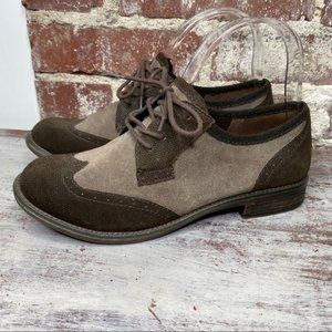 New Gianni Bini Oxford style brown shoes 8
